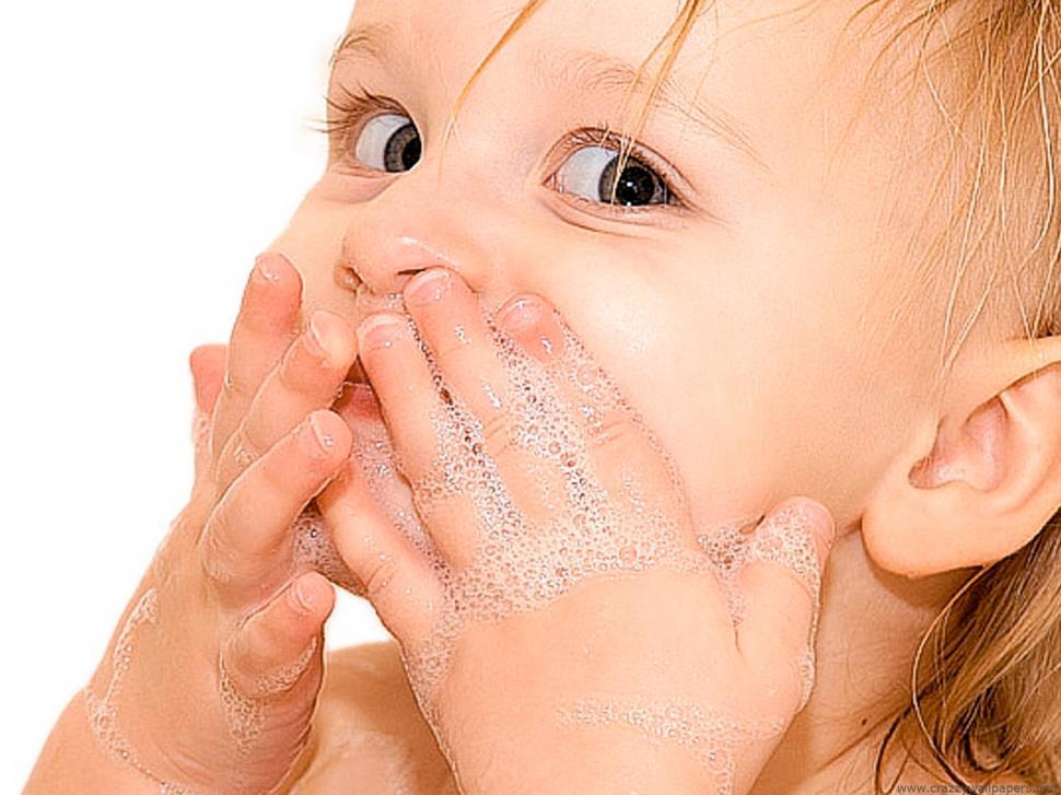 igiene personale bambino