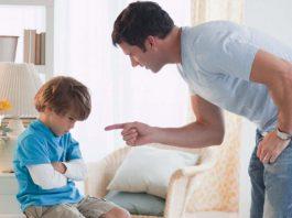 rimproverare i bambini