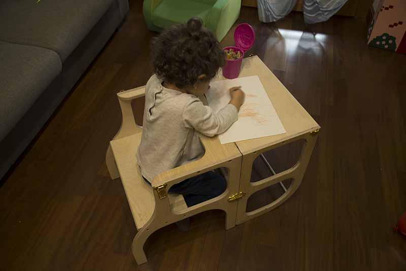 Sgabello Montessori
